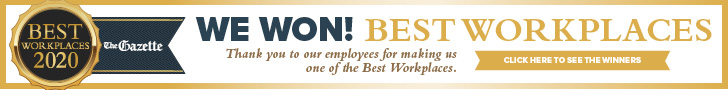 We won best place to work in 2020